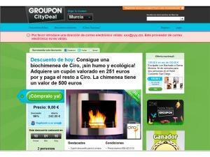 Portal de compras en grupo Groupon CityDeal en Murcia