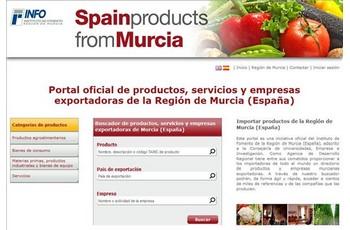 3883f03899 El portal 'Spain Products from Murcia' muestra los productos y servicios de  más de 2.500 empresas regionales - Noticias - Portada - Cecarm