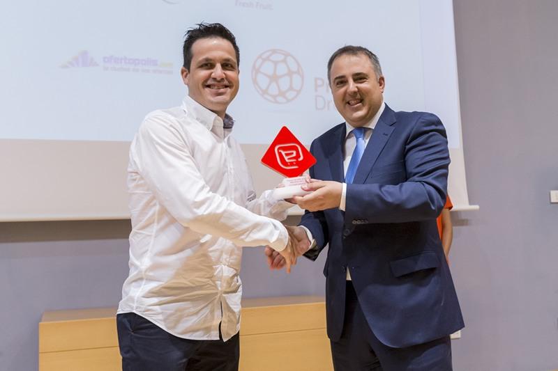 'Mejor tienda online' 'PcComponentes'. Luis Aledo