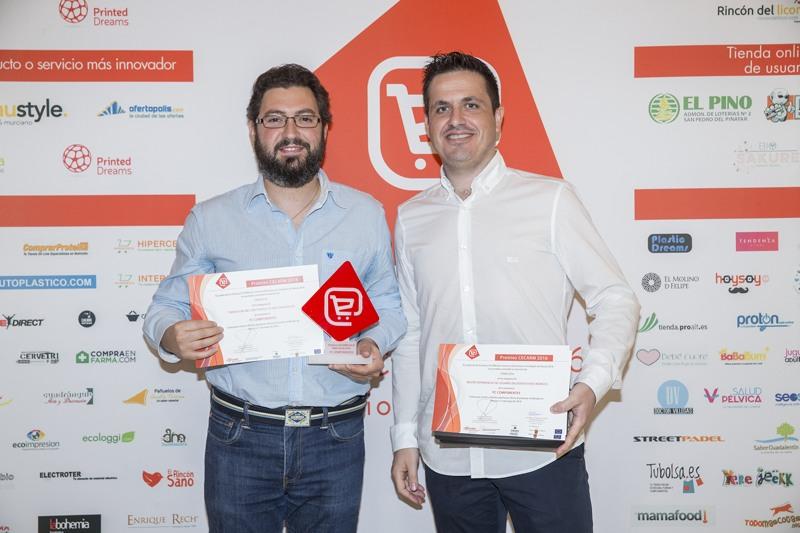 PC Componentes. Finalista Concurso Cecarm 2016