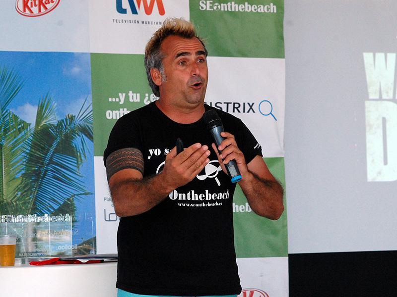 Sico de Andrés, organizador y ponente