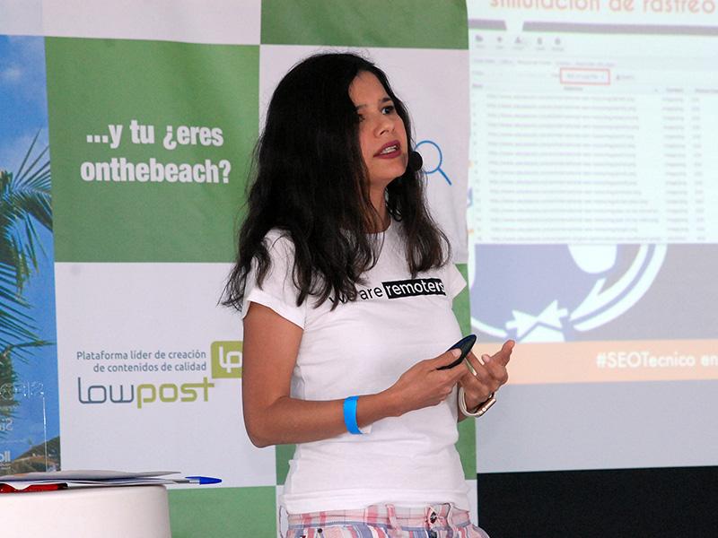Aleyda Solís, consultora SEO internacional
