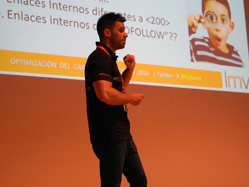 Luis Villanueva, organizador y primer ponente de SEOPLUS 2016