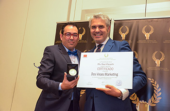 La murciana 2 Veces Marketing premiada con la Medalla de Oro de AEDEPI