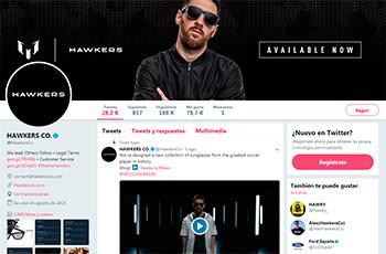 Hawkers, pioneros en nuestro país en vender desde Twitter