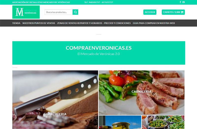 Mercado de Verónicas estrena nueva web