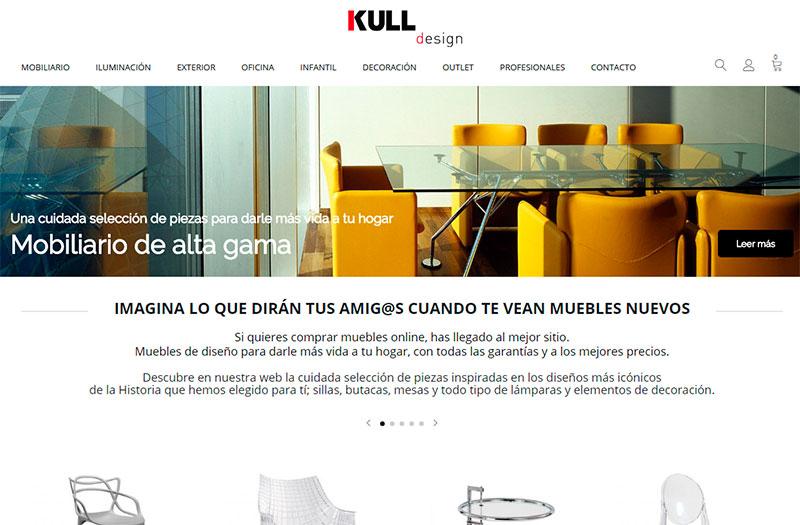 Kull Design, venta online de mobiliario de diseño