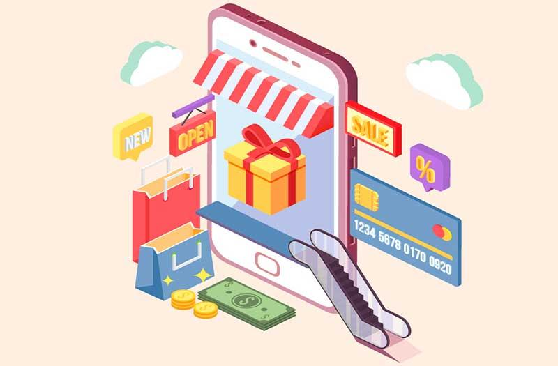 La tasa de conversión de las apps de compras supera a las de escritorio y web móvil