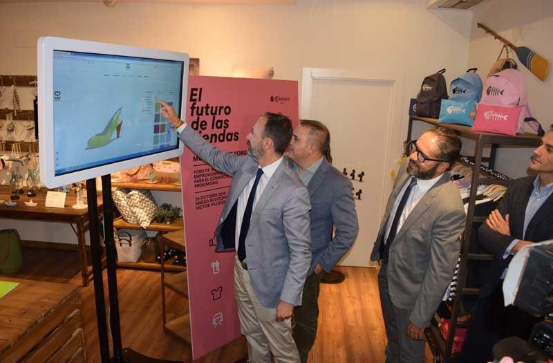 La tienda del futuro y las novedades tecnológicas de 25 empresas dedicadas al comercio se dan cita en 'Murcia Shop Forum'