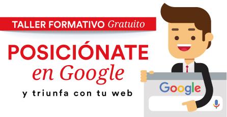 Posiciónate en Google y triunfa con tu web