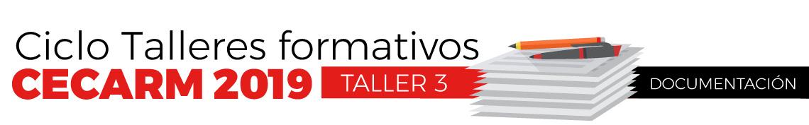 Ciclo Talleres formativos - Taller 3