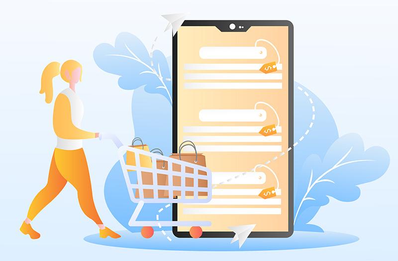 El comercio electrónico sigue al alza pero solo supone el 1,9 % del presupuesto familiar