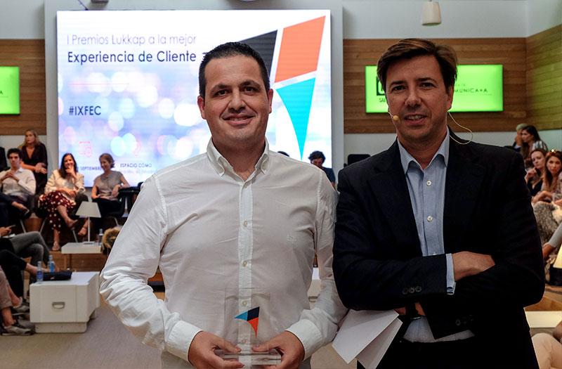 PcComponentes, mejor experiencia de cliente en los premios Lukkap y Teresa Olivares Lago, de Tutete.com, premio eWoman