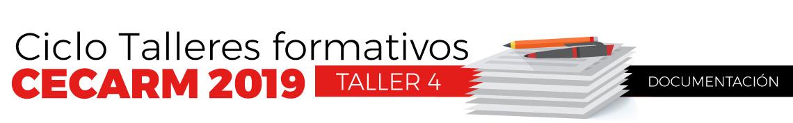 Ciclo Talleres formativos - Taller 4
