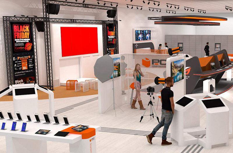 PcComponentes inaugurará su Xperience Center en Barcelona y prevé dar el salto al mercado francés