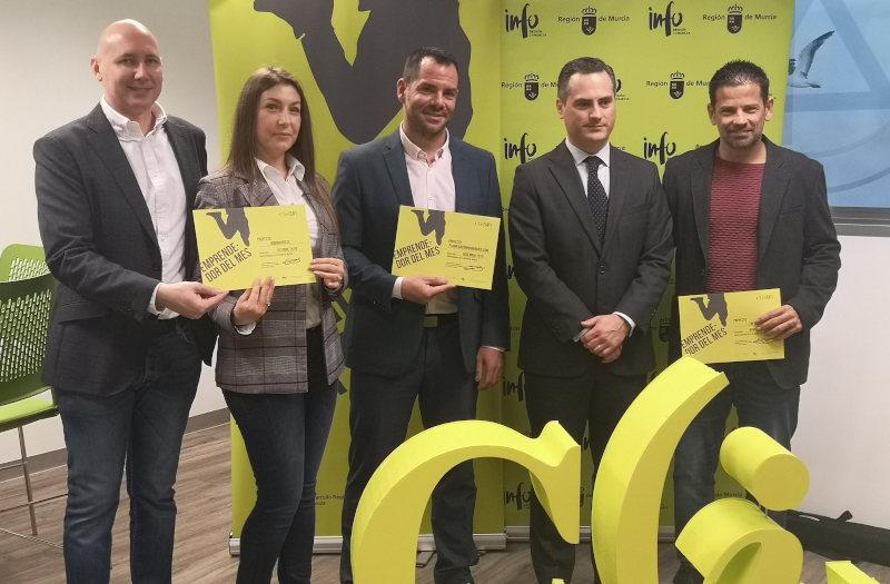 Entregados los 'Premios Emprendedor del Mes' del cuarto trimestre de 2019